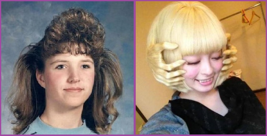 Les années 90 étaient très dures et le massage facial ou le film d'horreur- Les 14 coupes de cheveux les plus ridicules que vous ayez jamais vues.