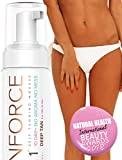 Gagnant du prix du meilleur autobronzant pour le visage et le corps - (250ml) Tan Force Facial Tanning...