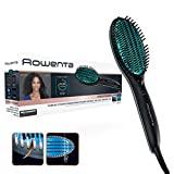 Rowenta Power Straight Brosse droite CF5820 - Brosse spéciale pour les cheveux très frisés, avec un...