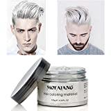 Crème colorante blanche mate, coiffage instantané, longue durée, professionnelle, cire, 120 g, pour cheveux...