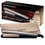 Remington S8590 Keratin Therapy Pro - Lisseur de cheveux professionnel, céramique, numérique, kératine,...