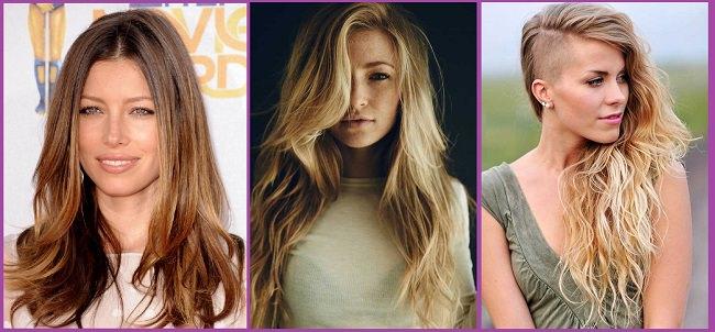 Coupes de cheveux et coiffures d'été pour cheveux longs