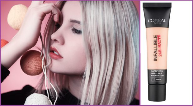 Infallible 24h mat de l'Oréal Paris, matifiant à bon prix - Les 5 meilleurs fonds de teint pour les peaux grasses