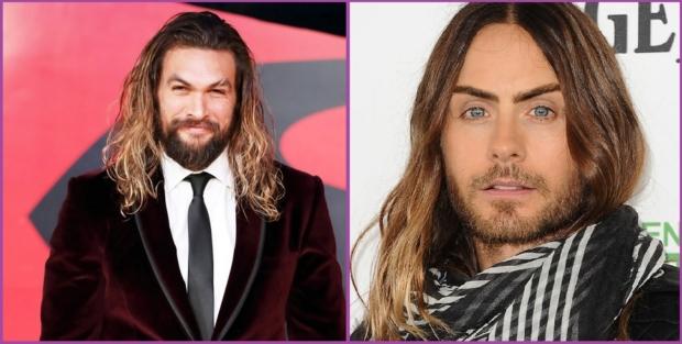 Jason Momoa ou Jared Leto arborent des crinières manucurées - Je suis un homme et je veux faire pousser mes cheveux longs.
