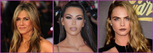 Donnez un look plus bronzé à votre maquillage comme Jennifer Aniston ou Kim Kardashiam - Nous aimons les couleurs terreuses.