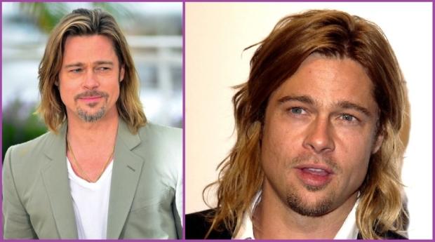 Brad Pitt, a été un précurseur des cheveux longs sur les hommes dans Légendes de la Passion - Je suis un homme et je veux faire pousser mes cheveux longs.