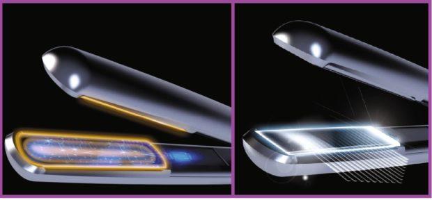 Le secret est dans la technologie - Obtenez une crinière lisse avec une pointe acérée grâce à Ultimate Experience de Rowenta.