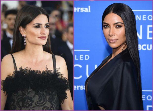 Kim Kardashian ou Penelopé Cruz adoptent ce look - Coiffures pour cheveux bruns
