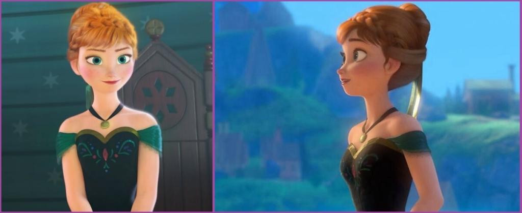 La princesse Anna nous prête sa coiffure- Coiffures d'événement pour filles