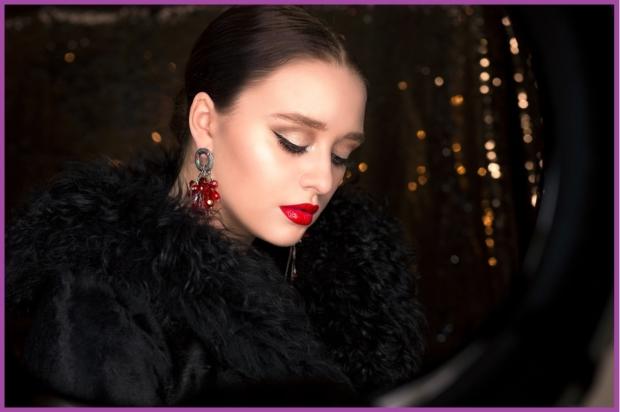 Les lèvres rouges, couleur fétiche de ces fêtes - Maquillage pour le Nouvel An