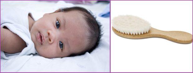 Notre bébé finira par s'amuser avec les peignes et les brosses - Les 5 meilleurs peignes pour bébé