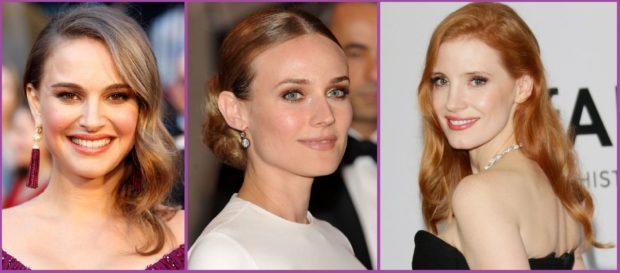 L'Eyeliner est bon pour la nuit, comme Natalie Portman aux Oscars. Nous aimons les couleurs terreuses.
