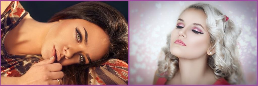 Les lèvres dans les tons Nude ou la tendance paillettes, vous donneront le maximum de glamour- Maquillage pour le réveillon.