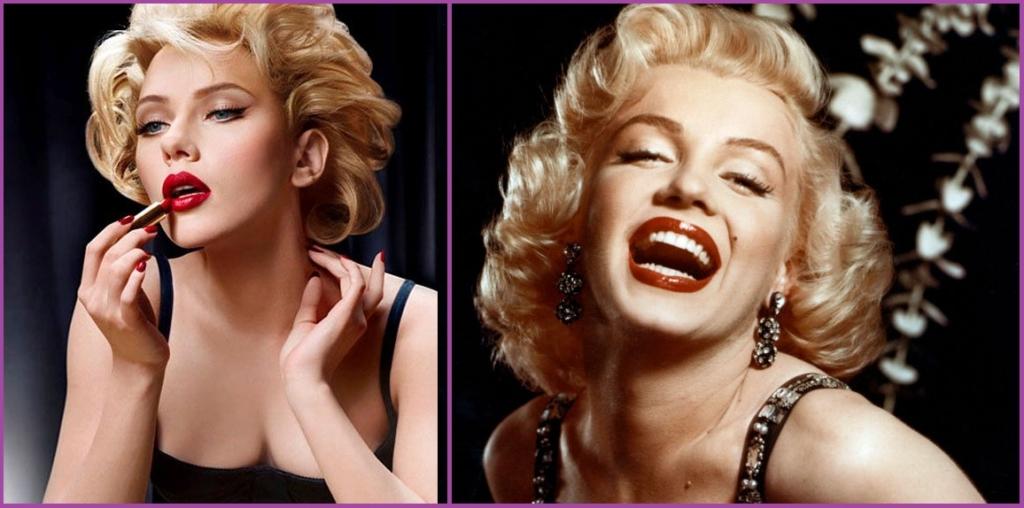 Marilyn Monroe portait cette coiffure de soirée pin up comme aucune autre - Coiffures des années 50 pour les femmes pin up