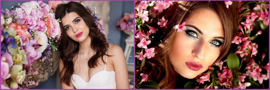Le gloss est l'une des astuces pour votre maquillage et les sourcils définis encadrent votre look - Maquillage pour le réveillon du Nouvel An.