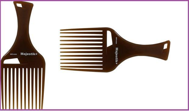 peigne majestik+, photos d'Amazon- Top 5 des meilleurs peignes pour cheveux longs