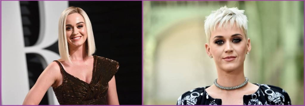 Katty Perry ne cesse d'étonner - la blondeur est à la mode et elle fait un tabac !