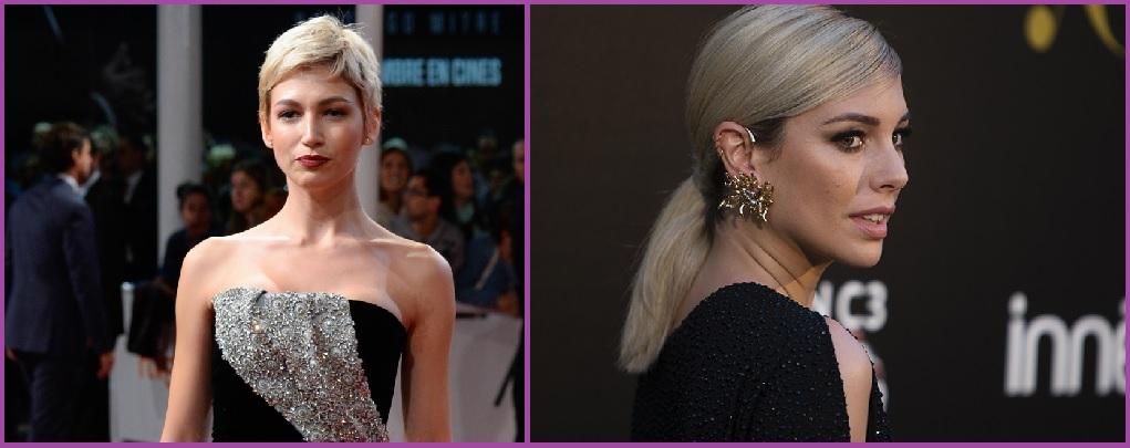 Nos actrices adoptent également la tendance des cheveux de grand-mère : cheveux argentés.