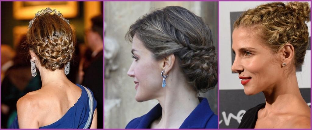 Updo avec petites tresses - Idées de coiffure pour le réveillon et le nouvel an