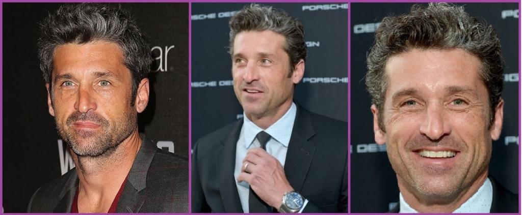 Patrick Dempsey - Coiffures élégantes avec des cheveux gris pour les hommes