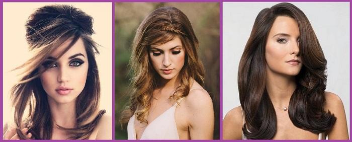 coiffures de communion cheveux lâchés