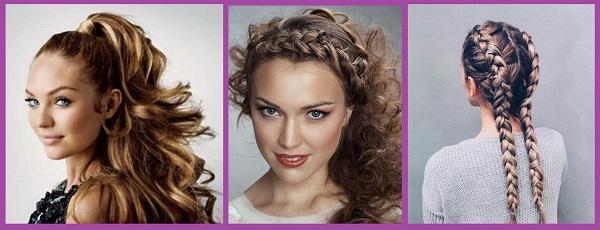 coiffures-couettes-courtes-courbures de cheveux
