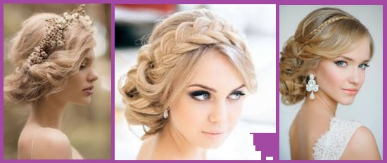 coiffure romantique en couronne