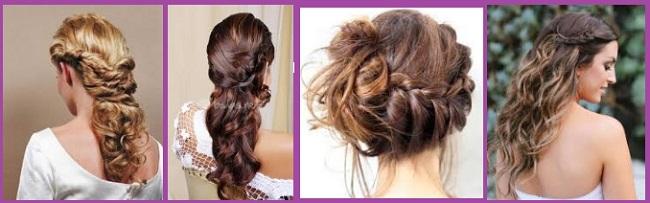 coiffures romantiques pour le jour de la Saint-Valentin