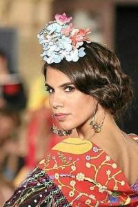 Updo flamenco rétro