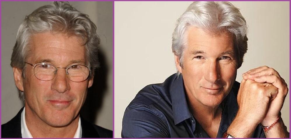 Richard Gere - Coiffures élégantes pour hommes aux cheveux gris
