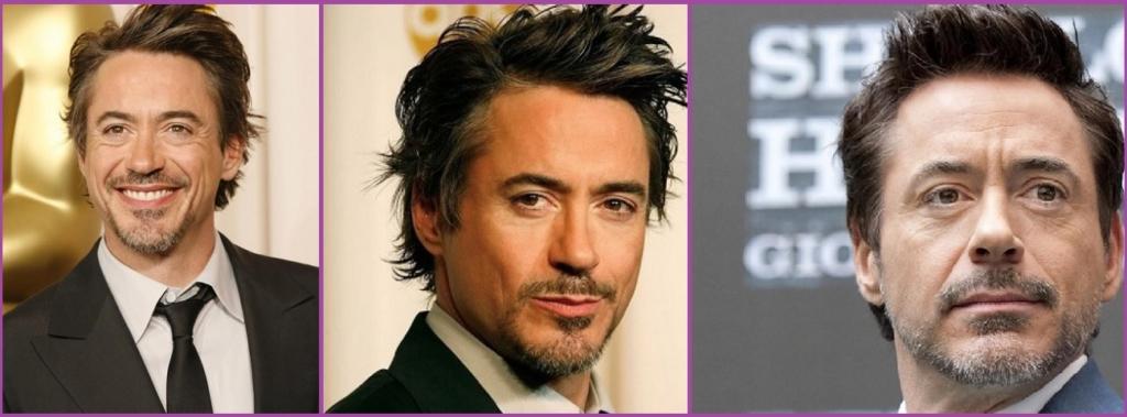 Robert Downey Jr. - Coiffures élégantes avec cheveux gris pour hommes